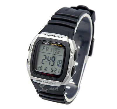 -Casio W96H-1A Digital Watch Brand New & 100% Authentic NM