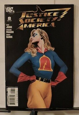 Justice Society of America #8 (Oct 2007, DC)