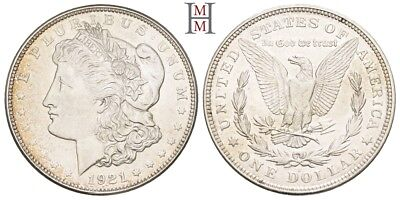 HMM - USA Dollar 1921 D Morgan Dollar KM 110 - 170929044
