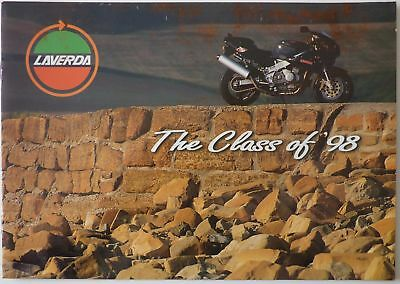 Laverda Range of Motorcycles - The Class of '98 Sales Brochure