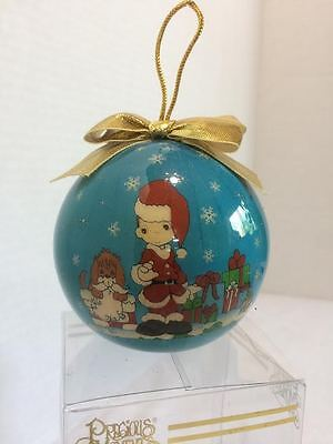 1995 Enesco Precious Moments Shatterproof Christmas Ornament - New