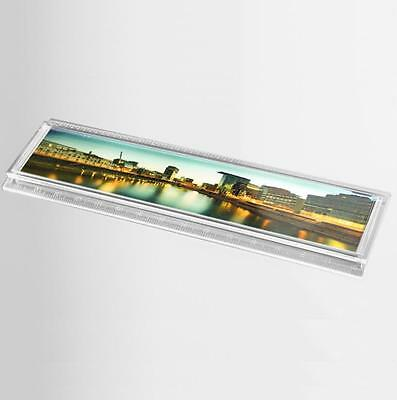 "50x Blank 6"" / 15cm Clear Acrylic Rulers 150x29mm Photo Picture Size (plastic)"