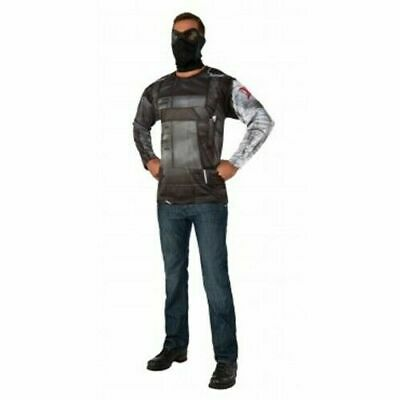 Winter Soldier Adult Costume Top and Mask Set