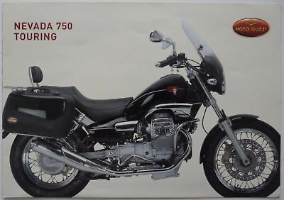 Moto Guzzi Nevada 750 Touring - Undated early 1980s