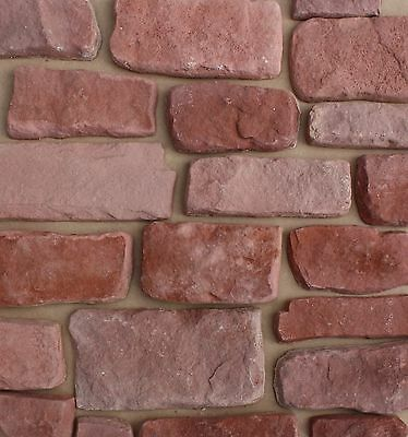 Agra Red Sandstone Cast Veneers - Stone Cladding - Higgins Cladding - Sample