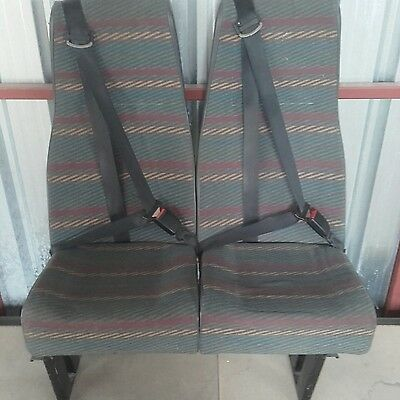 Double bench seat