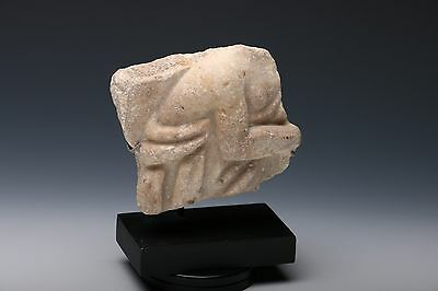 ANCIENT ROMAN MARBLE FRAGMENT ANTIQUITY Ex. CHRISTIES
