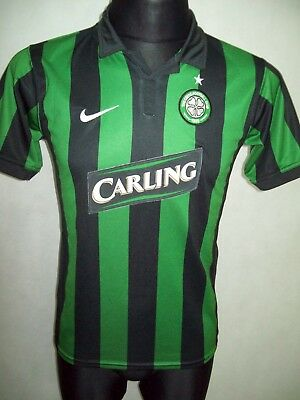 Celtic Glasgow 2006 2008 XLY 158-170cm Nike Away TOP CONDITION Shirt jersey