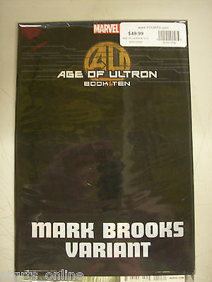 Age of Ultron Book #10 Mark Brooks 1:50 Variant Cover Still Poly Bagged
