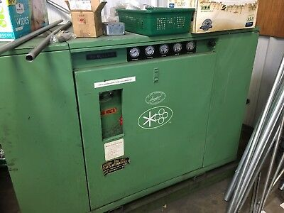 Sullair 103-25 ACAC 25hp rotary screw air compressor