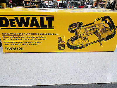 DEWALT Heavy-Duty Deep Cut Variable Speed Bandsaw - NEW in Box - DWM120