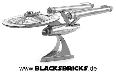 Metal Earth 3D Metall-Modell U.S.S. Enterprise NCC-1701 Star Trek Raumschiff TOS
