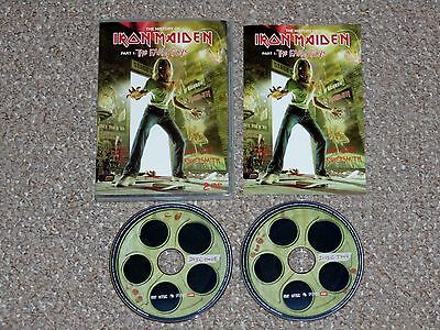 The History of Iron Maiden Part 1: The Early Days DVD 2004 2-Disc Set Complete