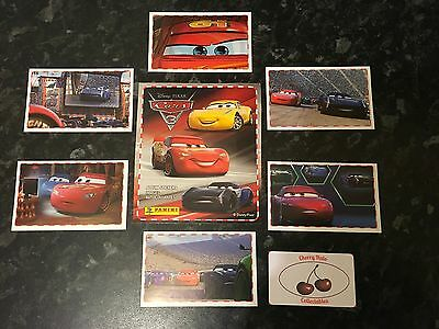 From 16p Each, Panini CARS 3 STICKERS, Choose From List, Lightning McQueen