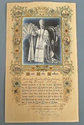 POPE PIUS XI PLENARY INDULGENCE 1927 Forest Row East Sussex J F KENNEDY U.S.link