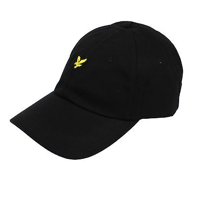 Lyle & Scott Black Baseball Cap