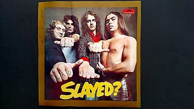 "Slade ""gudbuy T' Jane""  From Slayed?  Rare Original Print Promo Poster Ad"
