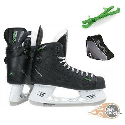 Reebok 24K Ice Hockey Skates Package with Bag & Guards **Great Value**
