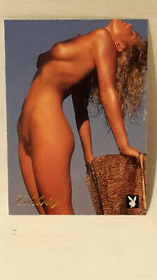 Playboy`s Celebrity Card August 1990  Erika Eleniak   #3EE  Playboy 1995