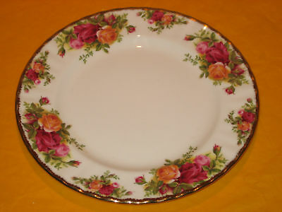 ROYAL ALBERT OLD COUNTRY ROSES DINNER PLATE 1st QUALITY c.1962
