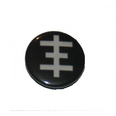 Button / Pin - Psychic TV - Anstecker Badge Industrial Neofolk Current coil