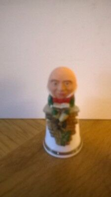 Sterling Classic Humpty Dumpty Thimble - Excellent condition!