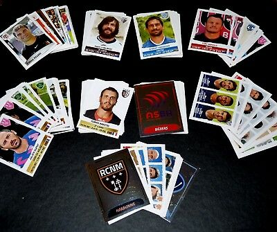Gros Lot 180 Stickers Images Panini Rugby Sport Saison 2016-2017