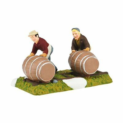 NDB-Department 56 Aged to Perfection, Ready to Roll New England Village Figurine
