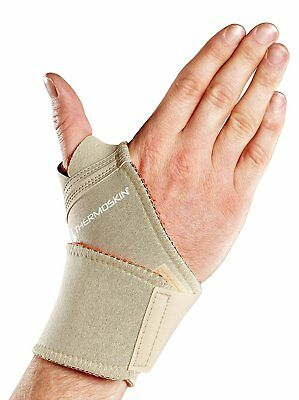 Thermoskin Thermal Universal Wrist Wrap, Beige, X-Smallall, Beige, 5 Ounce