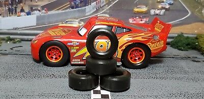 PAUL GAGE SLOT CAR TIRES 2pr PGT-22104XXD fit Carrera CARS 3......McQUEEN