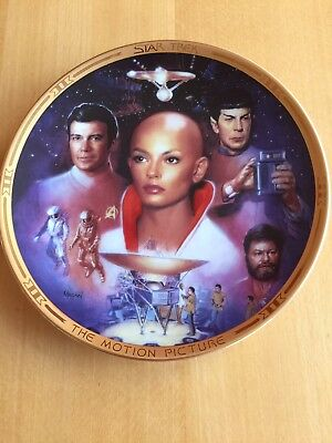 The Hamilton Collection: Star Trek The Movies Plates - The Motion Picture