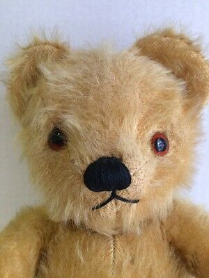 "Vintage 1950's Musical Mohair TEDDY BEAR 15"" Toy, CHAD VALLEY CO LTD"