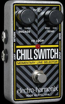 EHX Electro Harmonix CHILL SWITCH Momentary Line Selector Guitar Pedal Stomp Box
