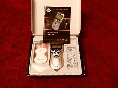 Tens Machine Digital Therapy Full Body Massager Pain Relief Acupuncture Back UK
