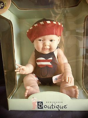 "Berenguer Boutique soft vinyl doll Real Boy Lucas 14"" 2+yrs anatomically correct"
