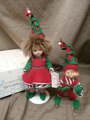 """Madame Alexander doll 8"""" CHRISTMAS WITH ANNALEE 50385"""