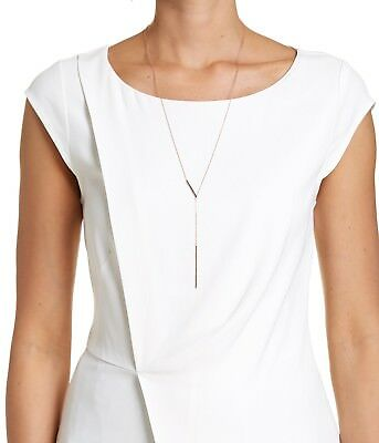 SABA sterling silver 925 Talia Drop Necklace RRP $129. NWT.