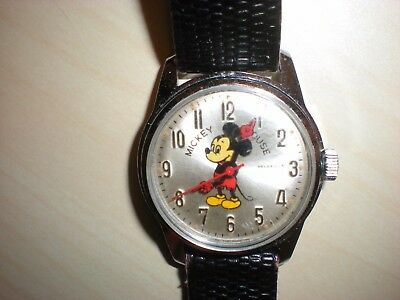 Vintage Helbros Mickey Mouse Watch, Ladies, Women's, Boys ? -  manual Germany