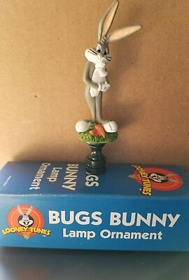 BRAND NEW*Looney Tunes Bugs Bunny Lamp Ornament*FREE USA SHIPPING!