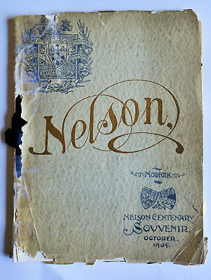 Norfolk Nelson Centenary Souvenir October 1905 booklet