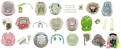 Fisher Price SWING Replacement Pad Straps Motor Toys Toybar Canopy PARTS