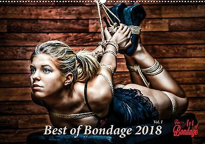 Best of Bondage 2018, Kalender A3 - Fine Art of Bondage - sexy erotik, Vol 1