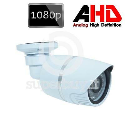 Telecamera Videosorveglianza AHD 1080P 24Led IR 6mm 2MP Infrarossi SONY Camera