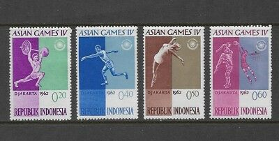 INDONESIA - mint 1962 4th Asian Games Jakarta, MH