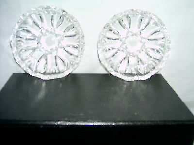 Mini Crystal Dishes - 2 in set for sale