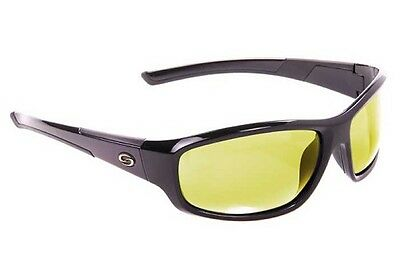 Strike King S11 Sunglasses - Bristol (Shiny Black Frame Cloud Low Light Lens)