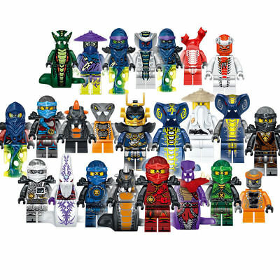 Mini figurines / Lot au choix - NINJAGO Serpent Pythor Ninja Phantôme SamuraÏ X-