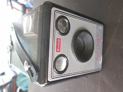 Kodak Box Brownie Flash Ii Camera In Great Condition For Its Age
