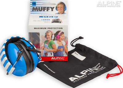 Alpine Muffy - Kids Ear Muffs in Blue, Pink, Red, Yellow Smiley Face