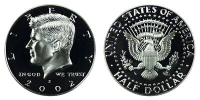 2002 S Kennedy Half Dollar Gem Proof Coin